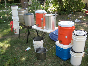 All my brewing stuff